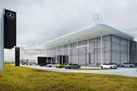 W Rudzie Śląskiej powstaje salon Mercedesa