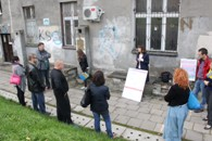 Konsultacje na podwórku