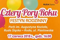 """Festyn rodzinny """"Cztery Pory Roku"""""""